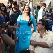 13nov BullettRaja BTS10 185x185 Bullett Raja: More from Saif Ali Khan plus Behind the Scenes and Movie Stills