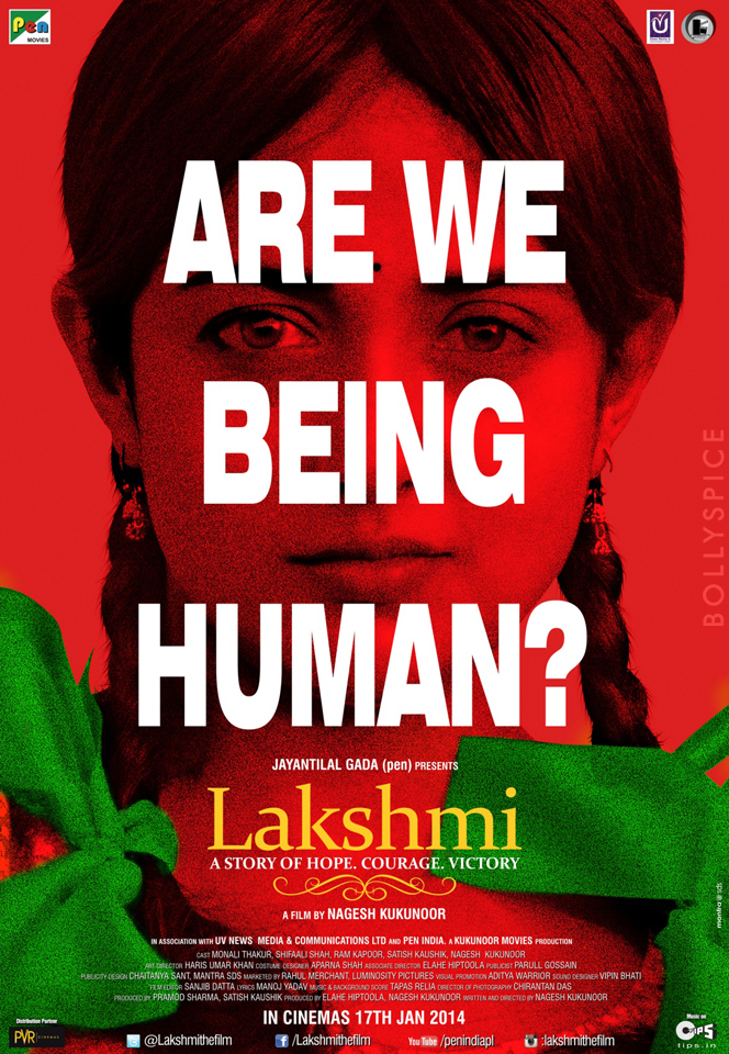 13nov Lakshmi Poster NageshKukunoor Nagesh Kukunoor's 'Lakshmi' trailer and first look revealed