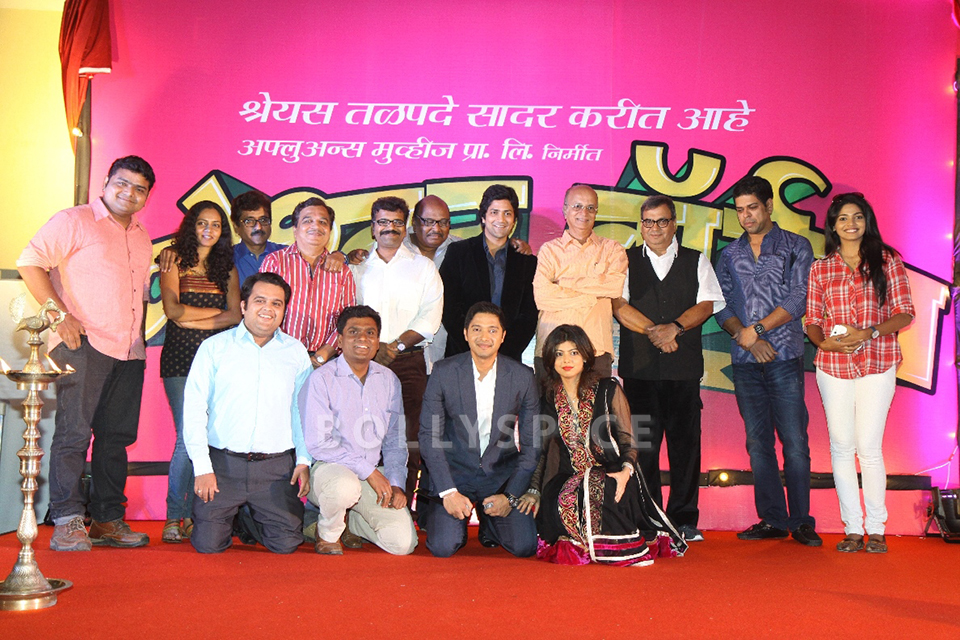 13nov PoshterBoyj GhaiTalpade03 Subhash Ghai launches Shreyas Talpade's second home production – Poshter Boyj