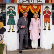 13nov PrinceCharlesCamillaIndia06 185x185 Prince Charles and the Duchess of Cornwall's Trip to India has more than one message