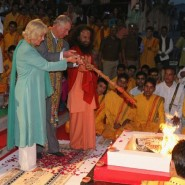 13nov PrinceCharlesCamillaIndia20 185x185 Prince Charles and the Duchess of Cornwall's Trip to India has more than one message