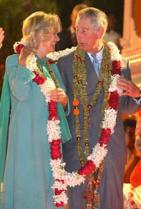 13nov PrinceCharlesCamillaIndia24 202x300 Prince Charles and the Duchess of Cornwall's Trip to India has more than one message