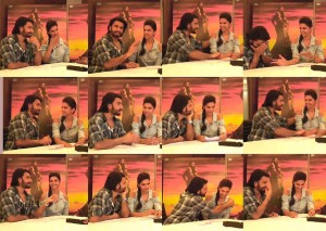 13nov RamLeela FacebookChat 300x213 Ranveer and Deepika surprise their fans on Facebook