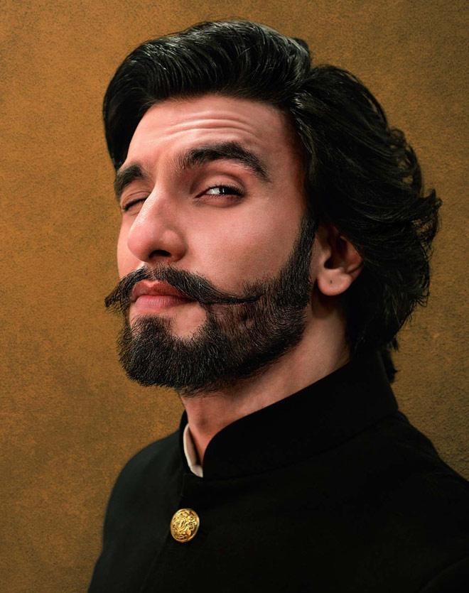 13nov RanveerMovember01 Ranveer Singhs Movember ends!