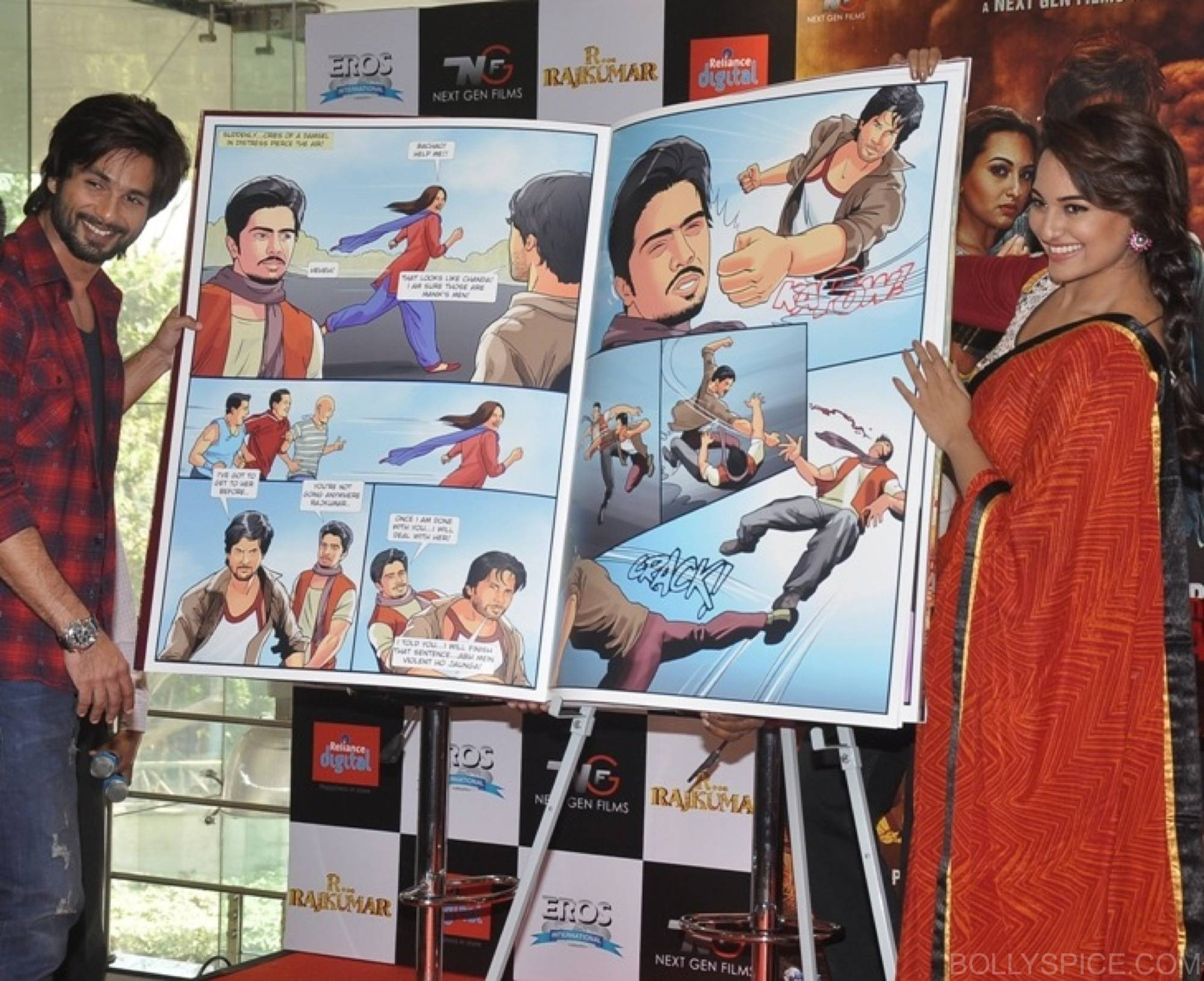 R...Rajkumar custom comic launch 3 R...Rajkumar presents India's first Custom Comic