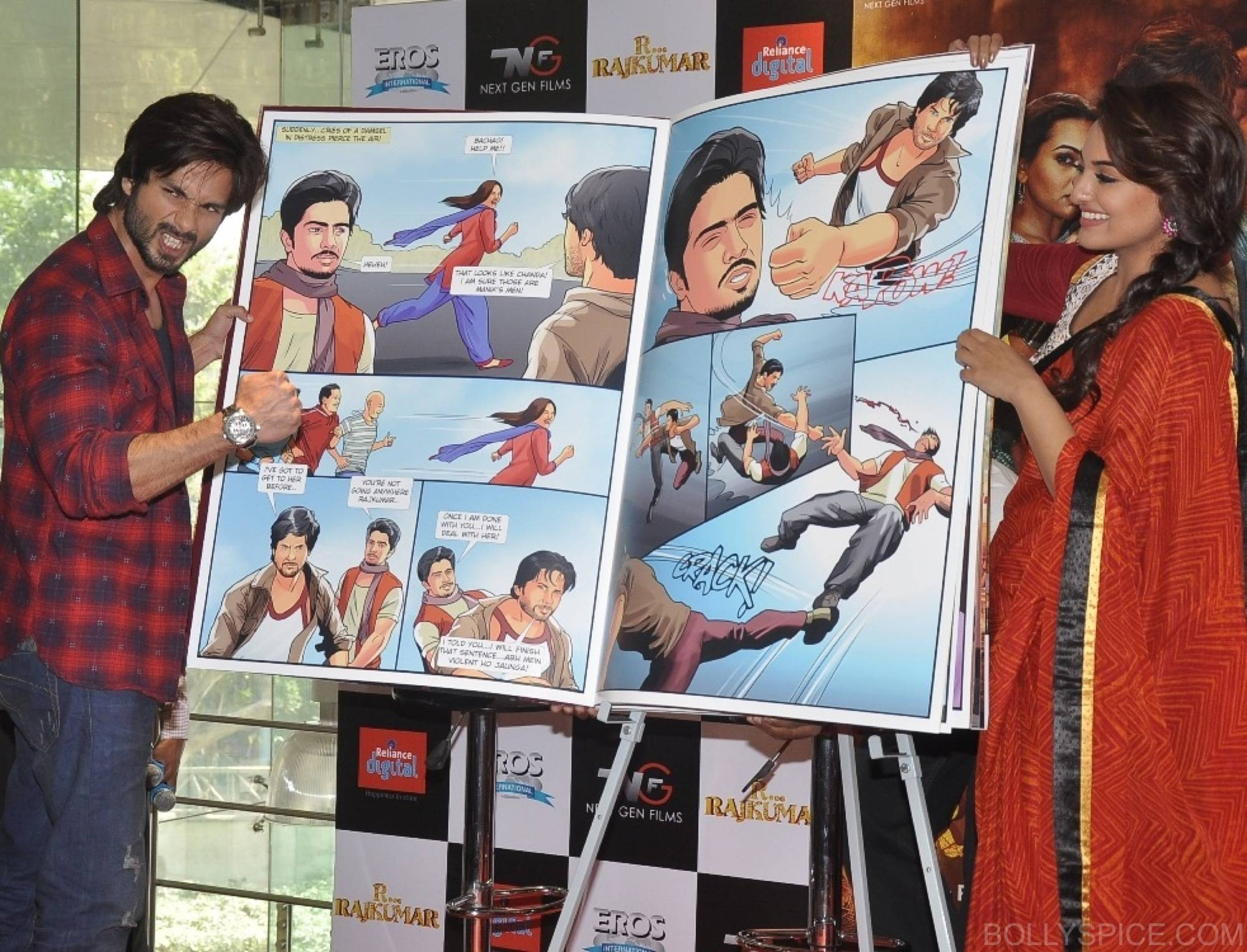 R...Rajkumar custom comic launch 4 R...Rajkumar presents India's first Custom Comic