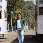 bullettrajabts3 185x185 Bullett Raja: More from Saif Ali Khan plus Behind the Scenes and Movie Stills