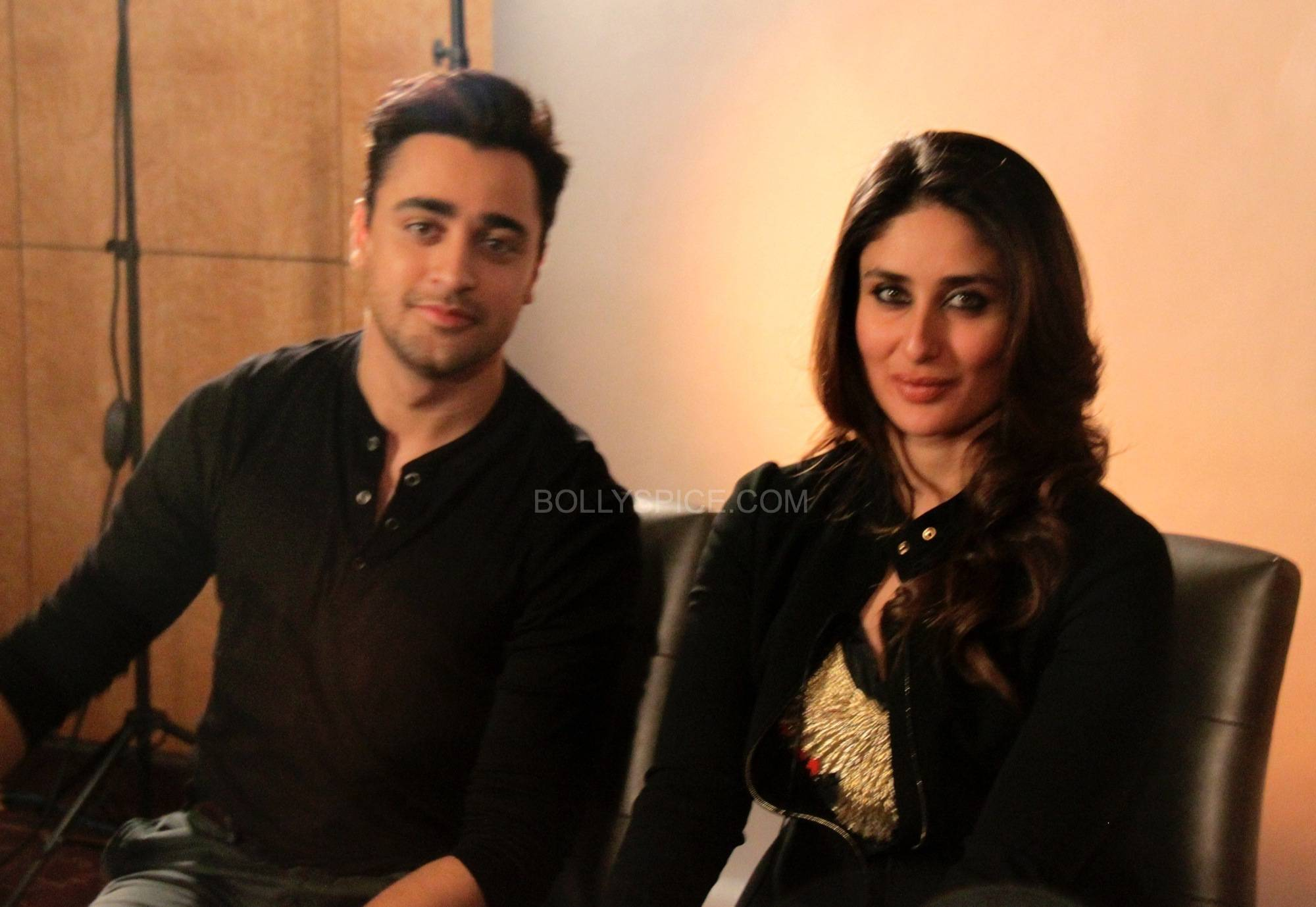 "imrankareenagtpmlondon3 ""If I had my own way I would tell everybody don't see any other movie this year apart from this""   Kareena and Imran talk Gori Tere Pyaar Mein"