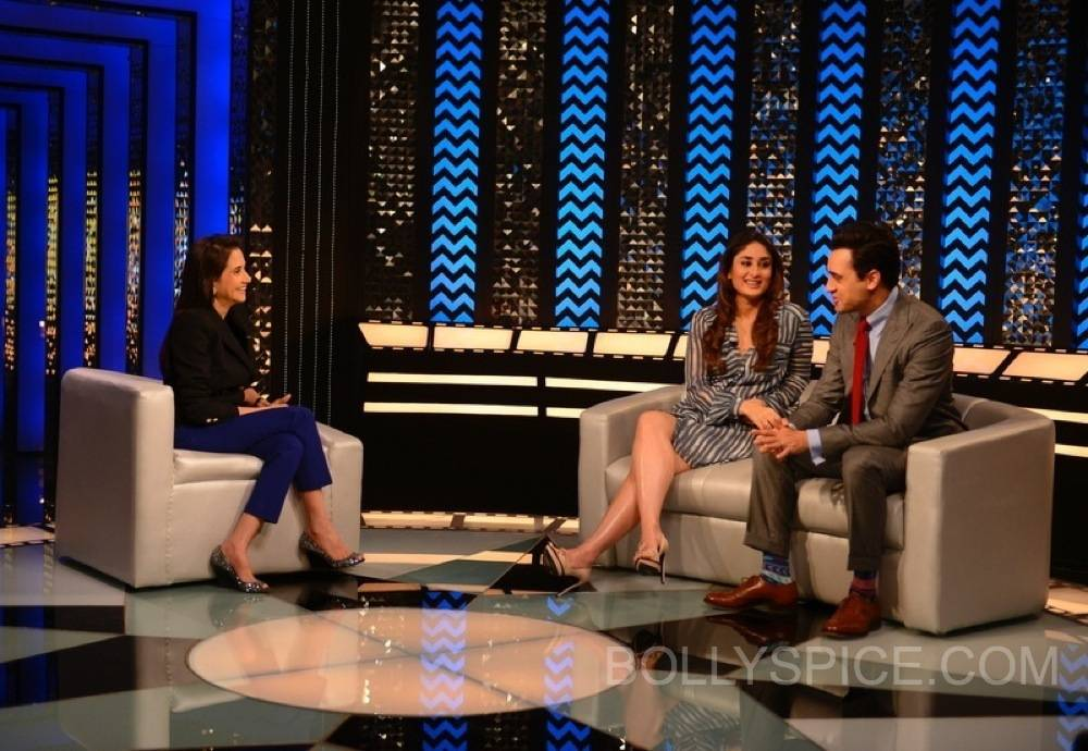 imrankareenatfranupamachopra2 Sneak Peek: Imran and Kareena on The Front Row with Anupama Chopra