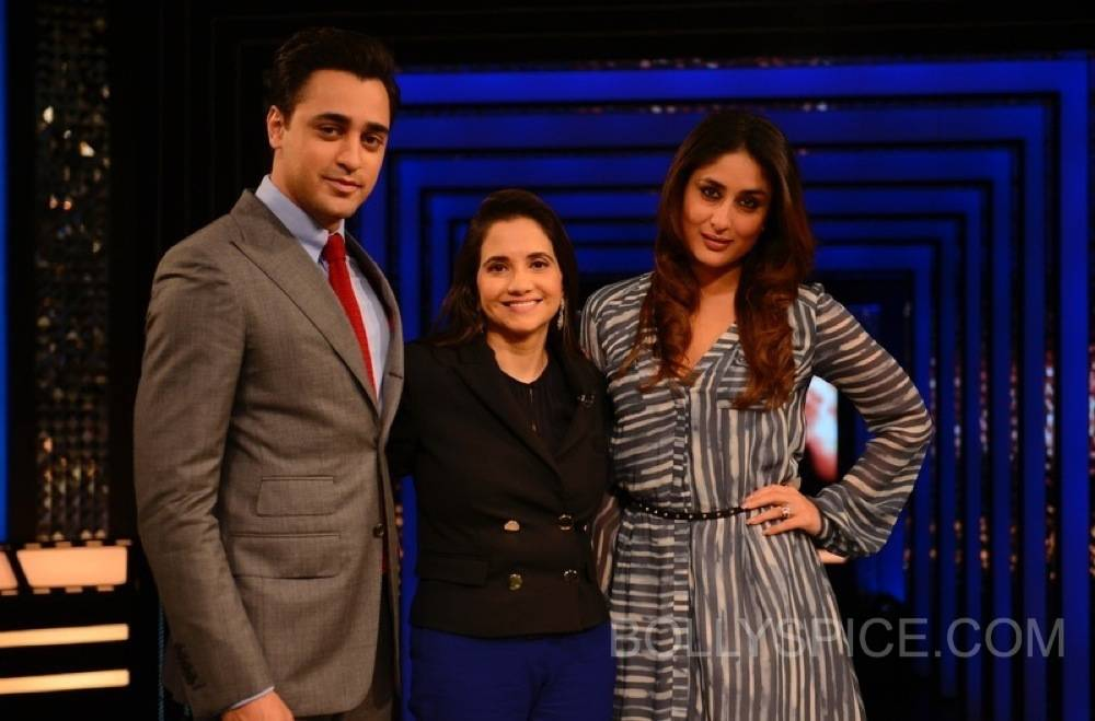 imrankareenatfranupamachopra4 Sneak Peek: Imran and Kareena on The Front Row with Anupama Chopra