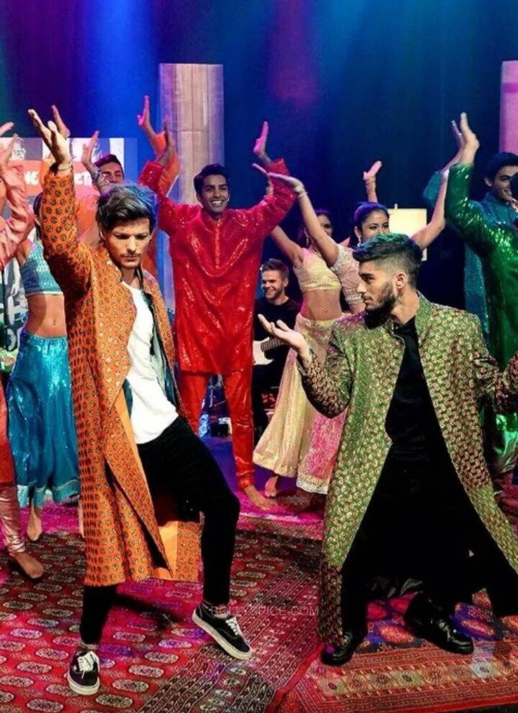 onedirectionndmbollywood3 One Direction Goes Bollywood for 1D Day Special