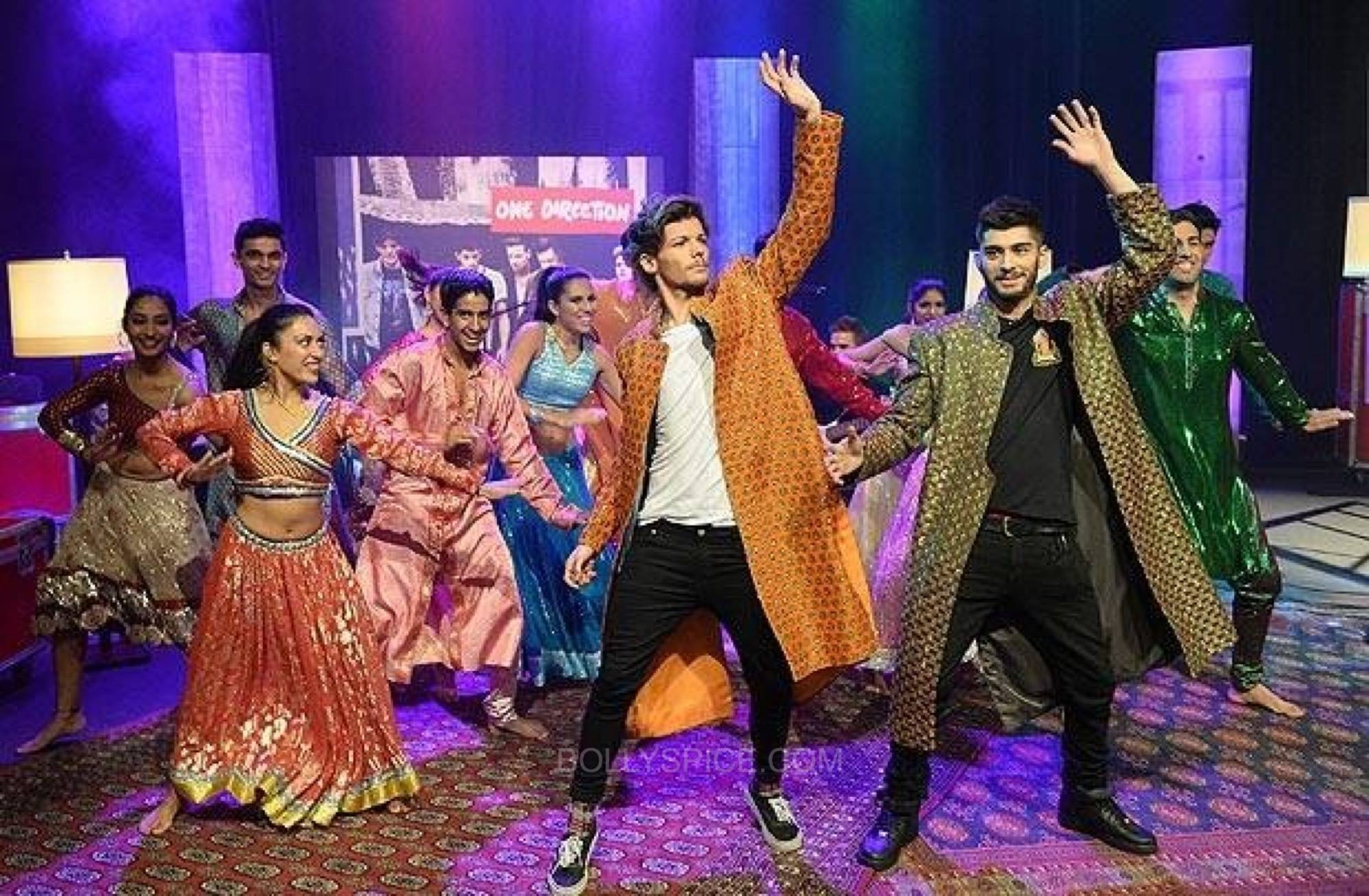 onedirectionndmbollywood4 One Direction Goes Bollywood for 1D Day Special