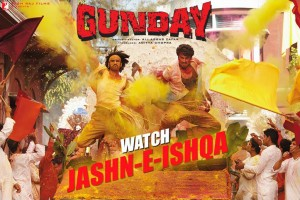 13dec JashnEIshqa Gunday 300x200 Bikram & Bala show their GUNDAY style with their first song Jashn e Ishqa
