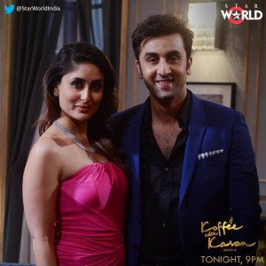 13dec Kareena Ranbir KWK 300x300 Koffee With Karan Season 4: With The Kapoor Cousins Ranbir And Kareena!
