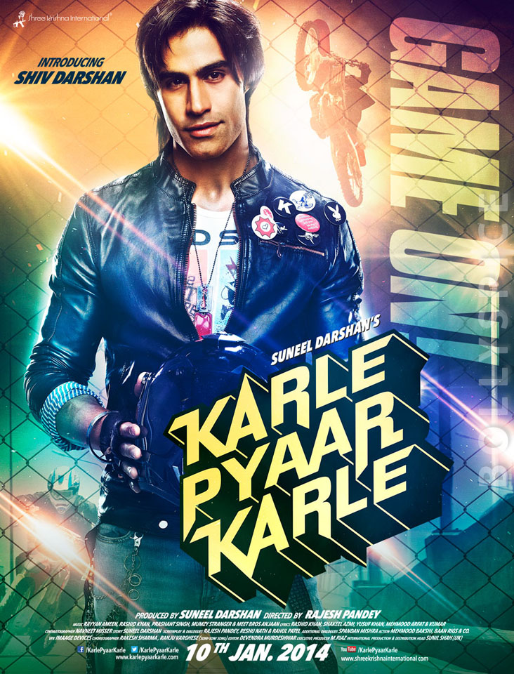 13dec KarlePyaarKarlePosters04 Suneel Darshan to launch his son, Shiv Darshan, in Karle Pyar Karle