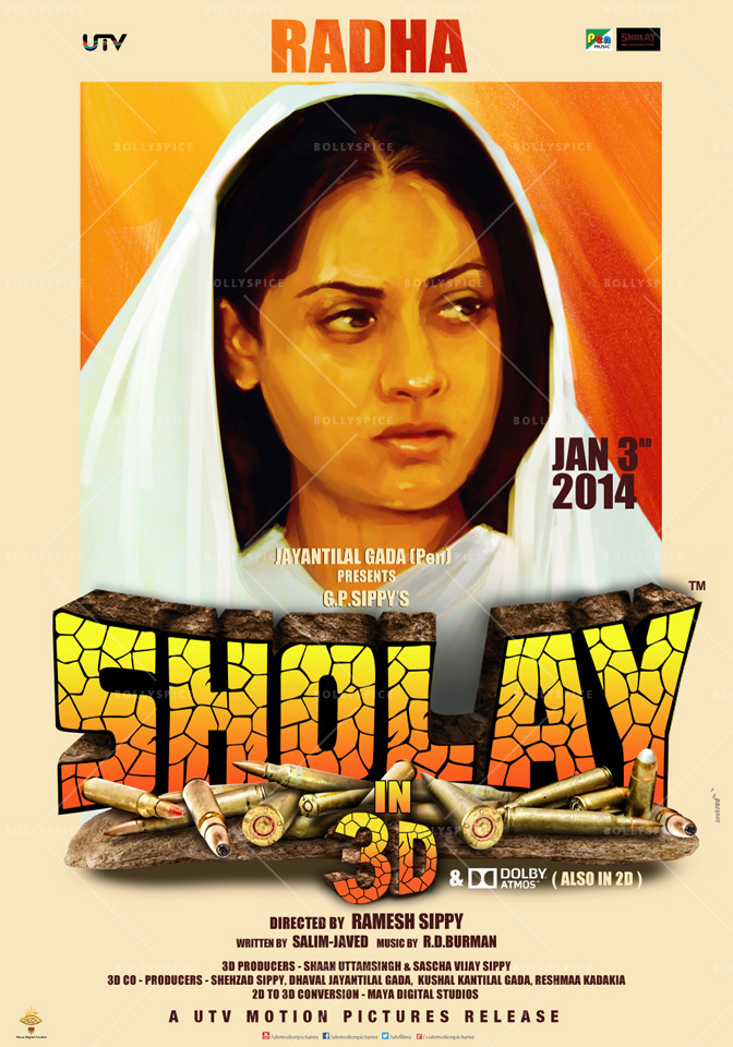 13dec Sholay3Dposter03 Cult classic 'Sholay' returns, now in 3D