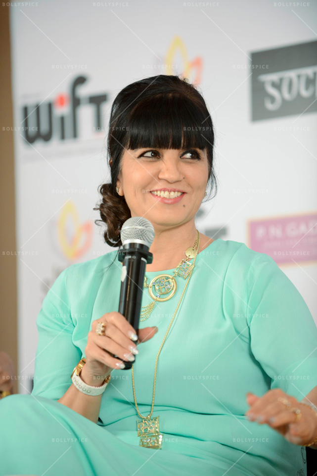 13dec WIFT01 WIFTs workshop on character and costume with designers Neeta Lulla, Niharika Khan, and Gavin Miguel