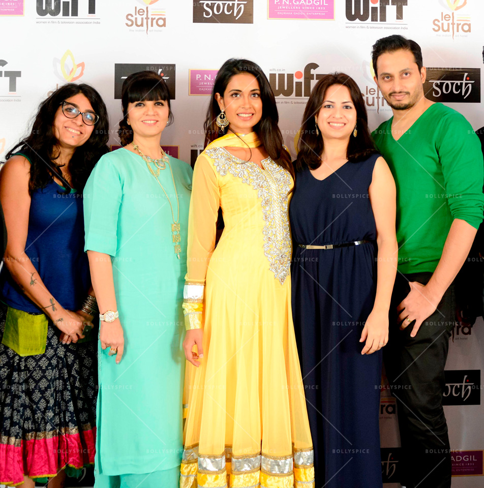 13dec WIFT02 WIFTs workshop on character and costume with designers Neeta Lulla, Niharika Khan, and Gavin Miguel