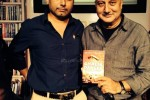 Anupam Kher and Neeraj Pandey at the book launch of Ghalib Danger