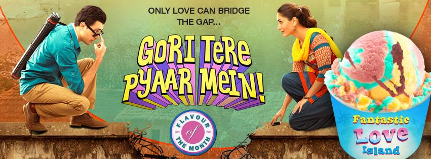 Baskin Robbins spreads Happiness with Gori Tere Pyaar Mein01 Baskin Robbins spreads Happiness with Gori Tere Pyaar Mein