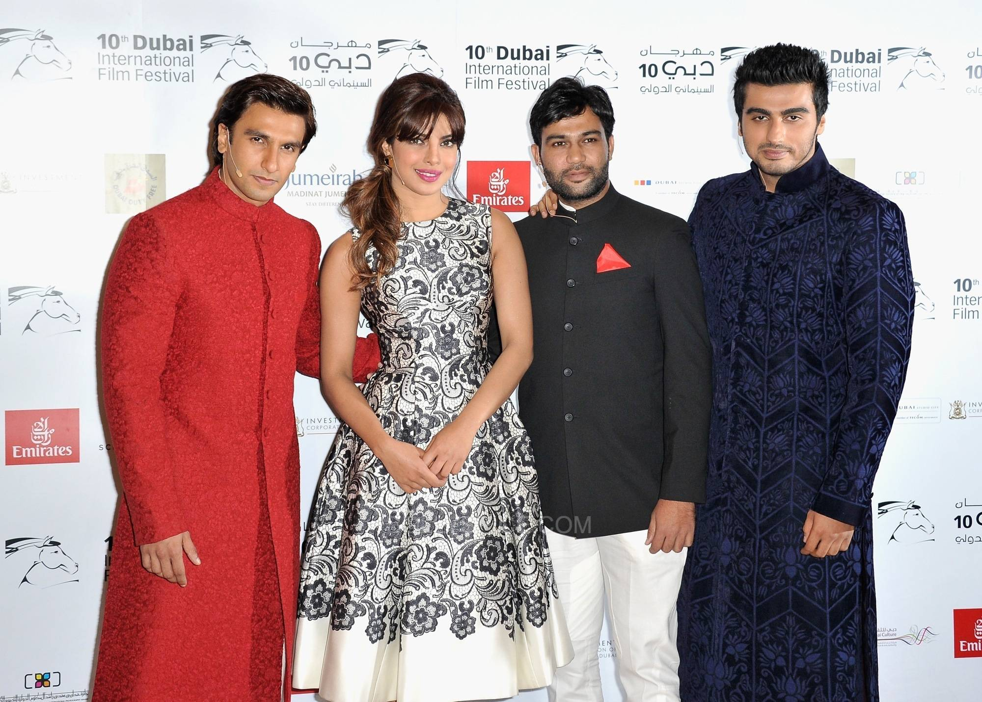 GUNDAY TEAM at DIFF 1 Gunday Trailer Premieres at the Dubai International Film Festival