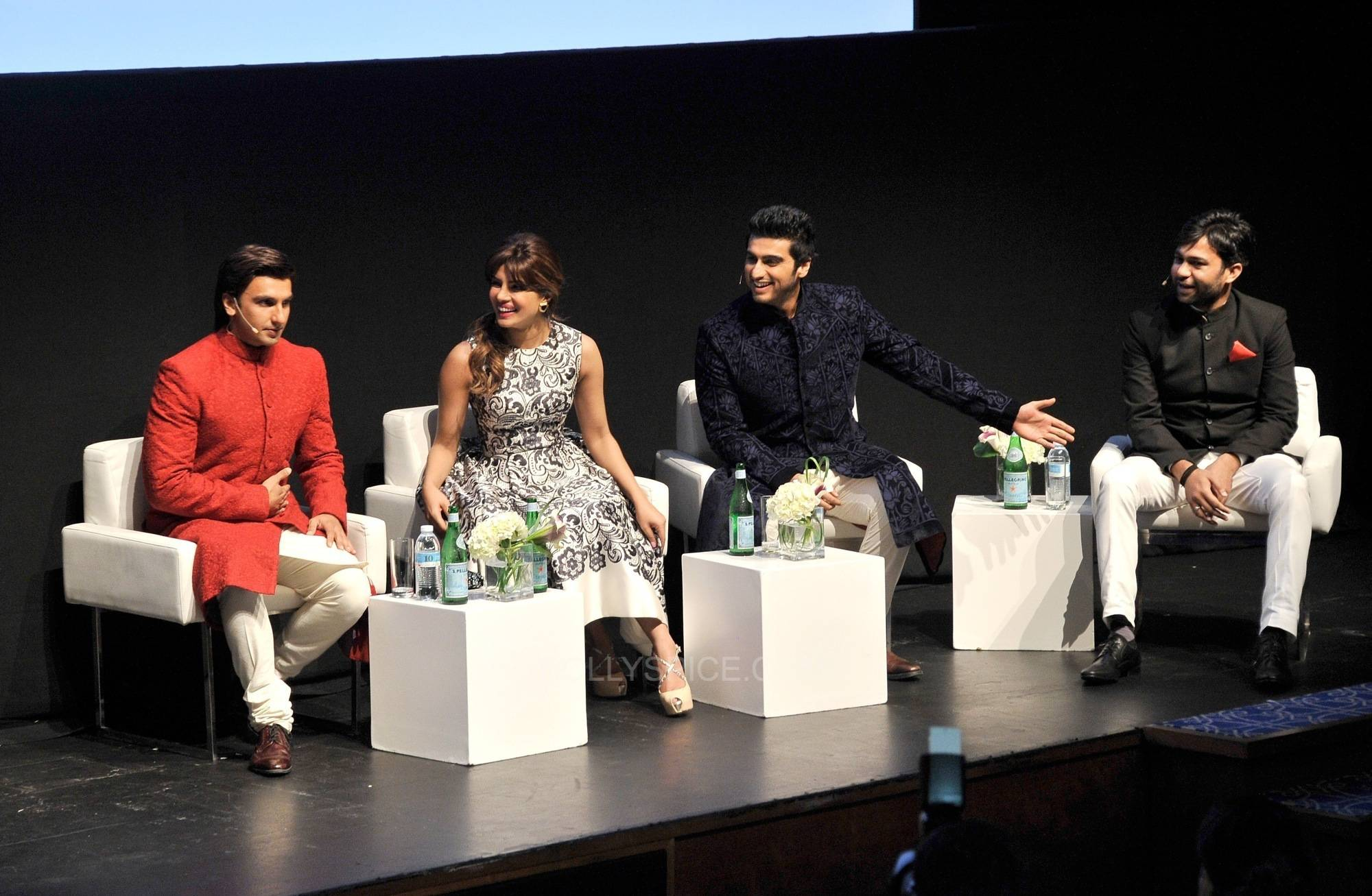 GUNDAY TEAM at DIFF 2 Gunday Trailer Premieres at the Dubai International Film Festival