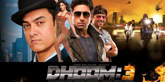 dhoom3poster Dhoom:3 Movie Review