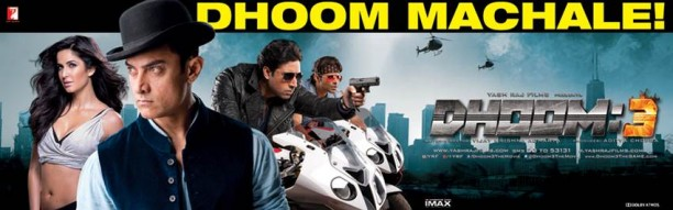 dhoomboxofficeworldwide 612x191 Dhoom:3 a Dhoombastic Hit Worldwide with $28.11 million   Rs.168.63 Cr