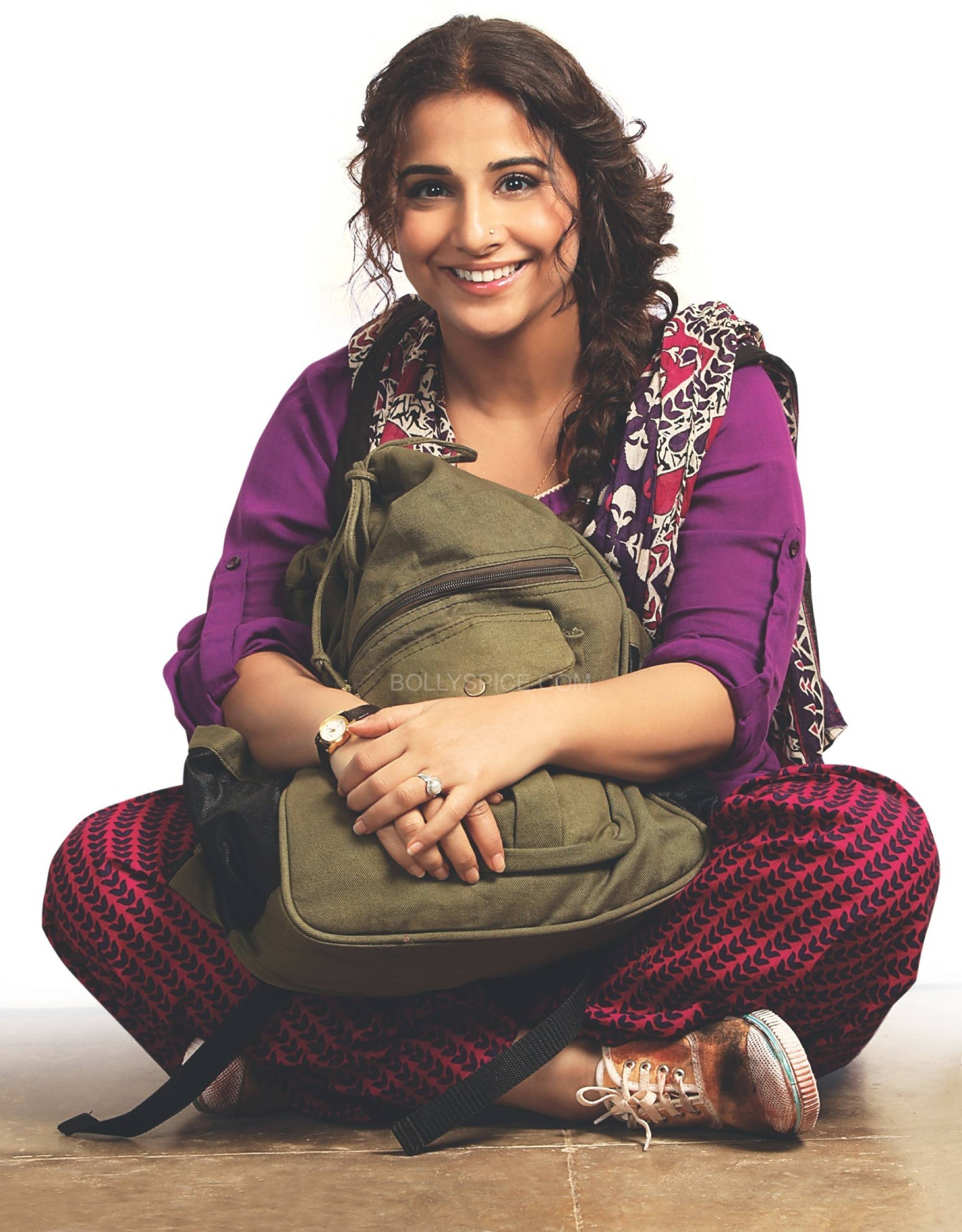 firstlookvidyabobbyjasoos2 Born Free Entertainments Bobby Jasoos completes in 51 days
