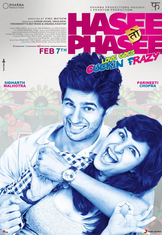 haseetohphasee01 Parineeti Chopra and Sidharth Malhotra starrer 'Hasee Toh Phasee' trailer launched in Mumbai
