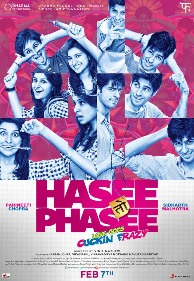 haseetohphasee02 Parineeti Chopra and Sidharth Malhotra starrer 'Hasee Toh Phasee' trailer launched in Mumbai