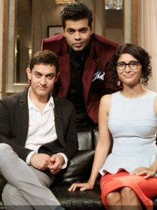 Koffee With Karan Season 4: Aamir Khan and Kiran Rao