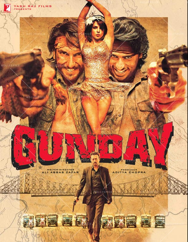 14jan Gunday Poster03 612x790 Composer Sohail Sen and the Music of Gunday   Exclusive interview!
