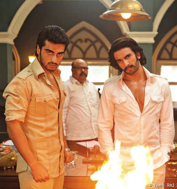 14jan Gunday Tan Ranveer and Arjun get a tan for Gunday