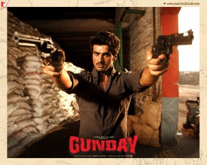 14jan Gunday Wall03 300x240 Arjun Kapoor: This Valentine's Day bromance is in and romance is out
