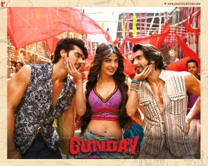 14jan Gunday Wall04 300x240 Gunday sets February box office record in India