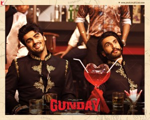 14jan Gunday Wall15 300x240 Ranveer Singh: Gunday is a traditional cinematic Hindi film   a mass entertainer, but it also has substance and credibility