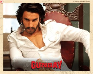 14jan Gunday Wall19 300x240 Ranveer Singh: Gunday is a traditional cinematic Hindi film   a mass entertainer, but it also has substance and credibility