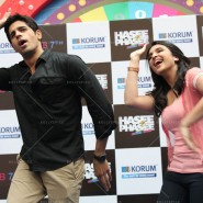14jan HTP MnG03 185x185 Sidharth and Parineeti at Hasee Toh Phasee Meet and Greet