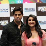14jan HTP MnG06 185x185 Sidharth and Parineeti at Hasee Toh Phasee Meet and Greet