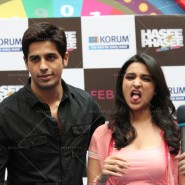 14jan HTP MnG07 185x185 Sidharth and Parineeti at Hasee Toh Phasee Meet and Greet