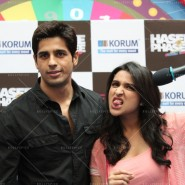 14jan HTP MnG08 185x185 Sidharth and Parineeti at Hasee Toh Phasee Meet and Greet