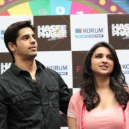 14jan HTP MnG09 185x185 Sidharth and Parineeti at Hasee Toh Phasee Meet and Greet