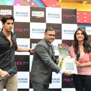 14jan HTP MnG26 185x185 Sidharth and Parineeti at Hasee Toh Phasee Meet and Greet