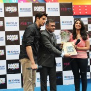 14jan HTP MnG30 185x185 Sidharth and Parineeti at Hasee Toh Phasee Meet and Greet
