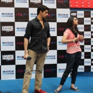 14jan HTP MnG34 185x185 Sidharth and Parineeti at Hasee Toh Phasee Meet and Greet