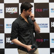 14jan HTP MnG39 185x185 Sidharth and Parineeti at Hasee Toh Phasee Meet and Greet