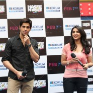 14jan HTP MnG42 185x185 Sidharth and Parineeti at Hasee Toh Phasee Meet and Greet