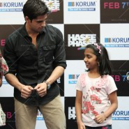 14jan HTP MnG63 185x185 Sidharth and Parineeti at Hasee Toh Phasee Meet and Greet