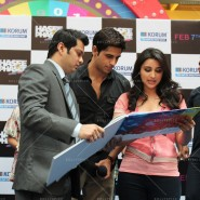 14jan HTP MnG74 185x185 Sidharth and Parineeti at Hasee Toh Phasee Meet and Greet
